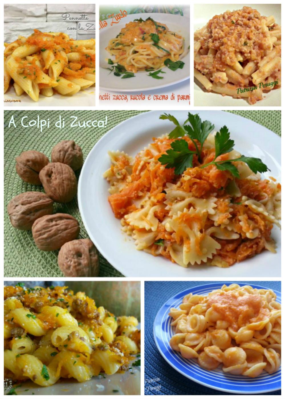 Primi piatti con la zucca a tavola con liaa tavola con lia - Tavola dei fattori primi ...