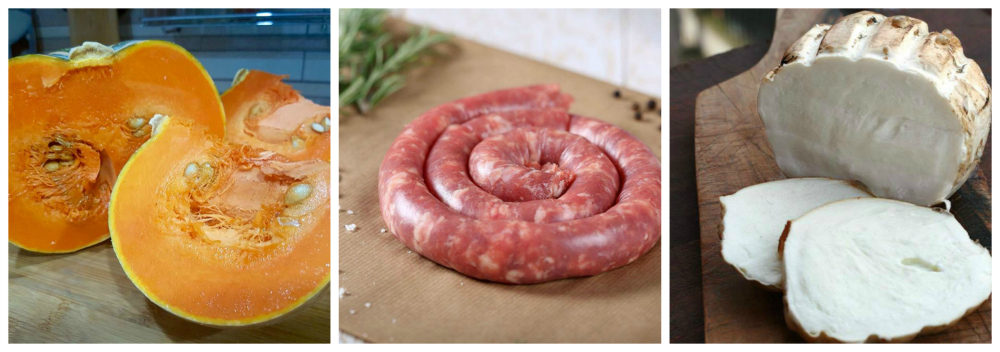 paccheri ripieni zucca salsiccia scamorza2-3-4 Lia