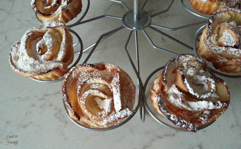 Rose di sfoglia mele e marmellata a tavola con liaa - A tavola con guy ricette ...