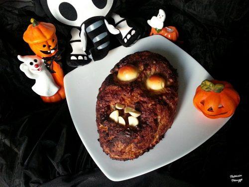"""POLPETTONE ZOMBIE (secondo """"mostruoso"""" per Halloween)"""