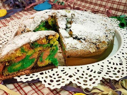 TORTA ARLECCHINO (perfetta per Carnevale!)