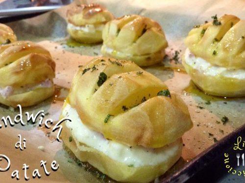 SANDWICH DI PATATE (ricetta sfiziosa!)