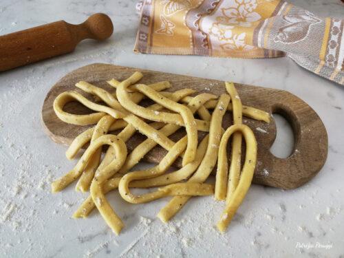 SCIALATIELLI FATTI IN CASA (ricetta tipica Campana)