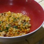 Fregola con vongole – Fregola with clams