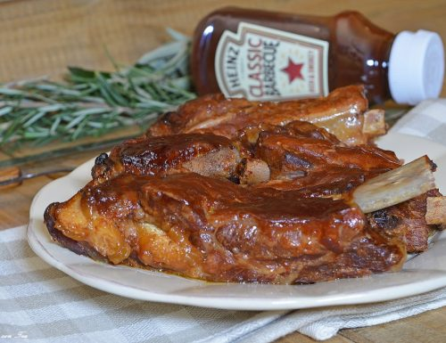 COSTINE DI MAIALE IN SALSA BBQ con la Crock Pot – Slow Cooker