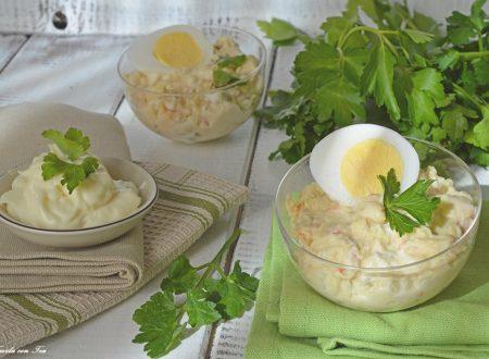 Insalata russa: ricetta facile veloce
