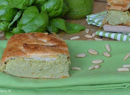 Torta salata al pesto ricetta facile