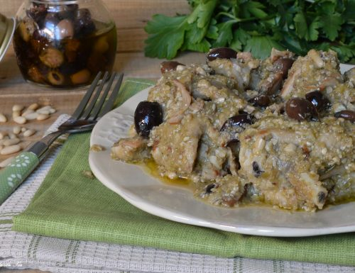 Coniglio con olive alla Ligure CROCK POT – Slow Cooker