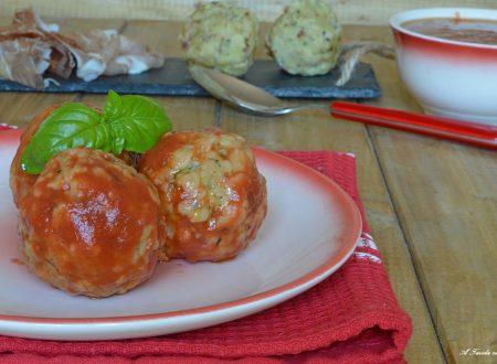 Canederli al pomodoro ricetta semplice