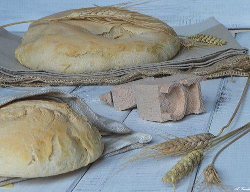 Pane bianco con pasta madre
