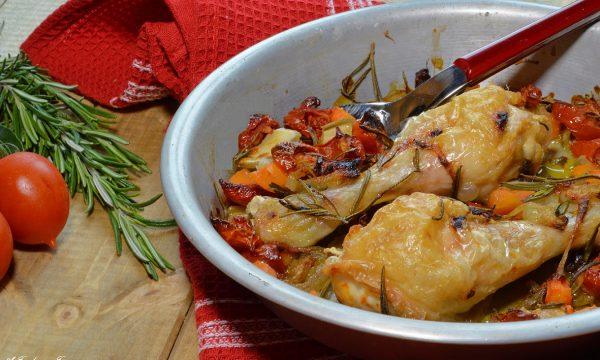 Cosce di pollo al forno light