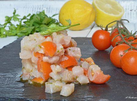 Tartare di pesce spada facile e leggera