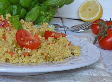 Couscous di verdure ricetta light