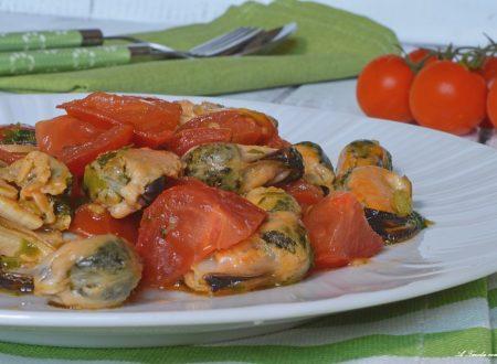 Insalata veloce cozze e pomodorini
