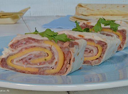 Tortilla wrap ripiene facili e veloci