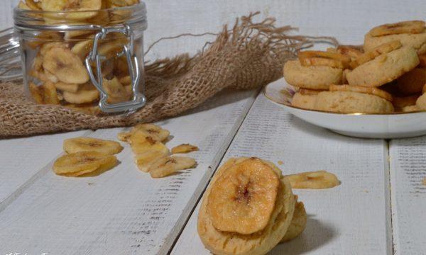Banana biscuits (biscotti alla banana)