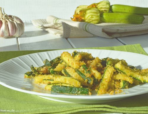 Zucchine sabbiose ricetta contorno veloce