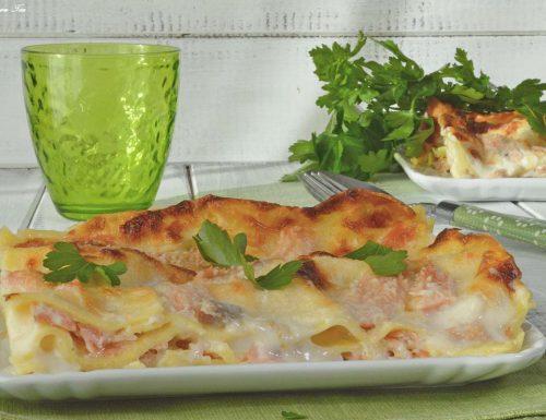 Lasagne salmone e besciamella