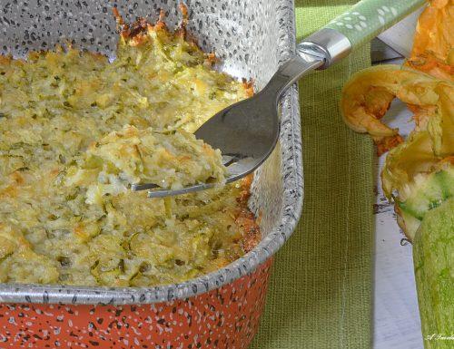 Zucchine al forno con formaggio – ricetta facile e veloce