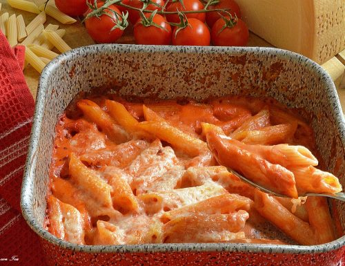 PASTA PASTICCIATA AL FORNO ricetta semplice e golosa