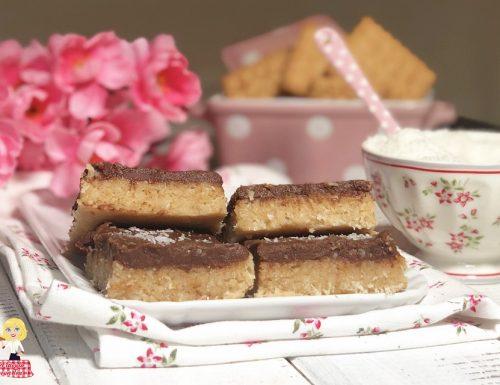Torta BOUNTY cocco e cioccolato SENZA COTTURA