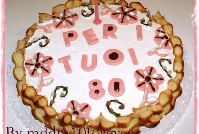 TORTA PER I TUOI 80