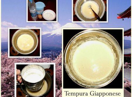 TEMPURA GIAPPONESE
