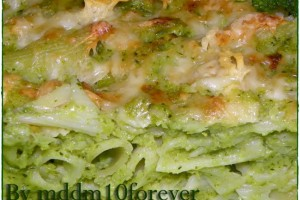 PENNE AL FORNO IN CREMA DI BROCCOLI