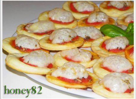 MINI PIZZETTE DI PHILADELPHIA