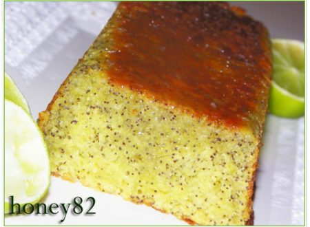 PLUM CAKE LIME E SEMI DI PAPAVERO