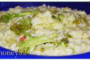 RISOTTO AL BROCCOLO SICILIANO