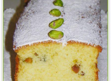 PLUM CAKE CON YOGURT E PISTACCHI