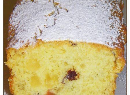PLUM CAKE CON CANDITI E UVETTA
