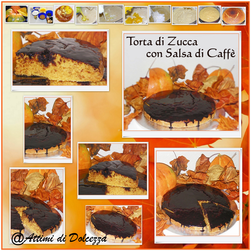 TORTA DI ZUCCA CON SALSA DI CAFFè copia