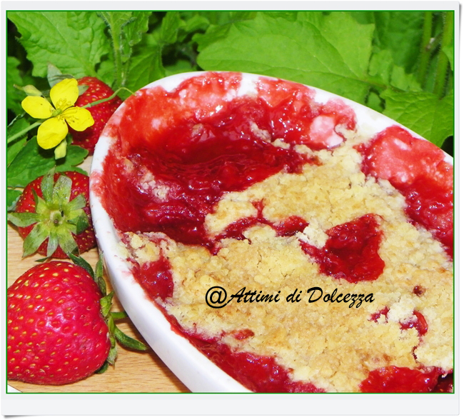 CRUMBLE DI FRAGOLE 28-05-15 copia