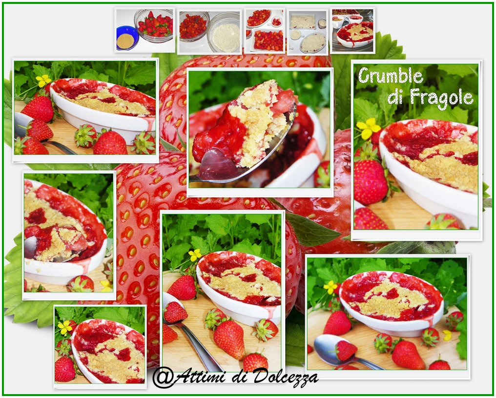 CRUMBLE DI FRAGOLE copia