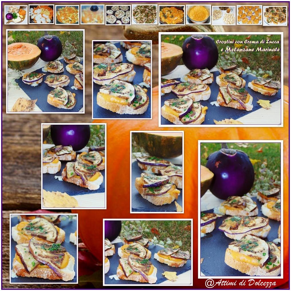 crostini-con-crema-di-zucca-e-melanzane-marinate