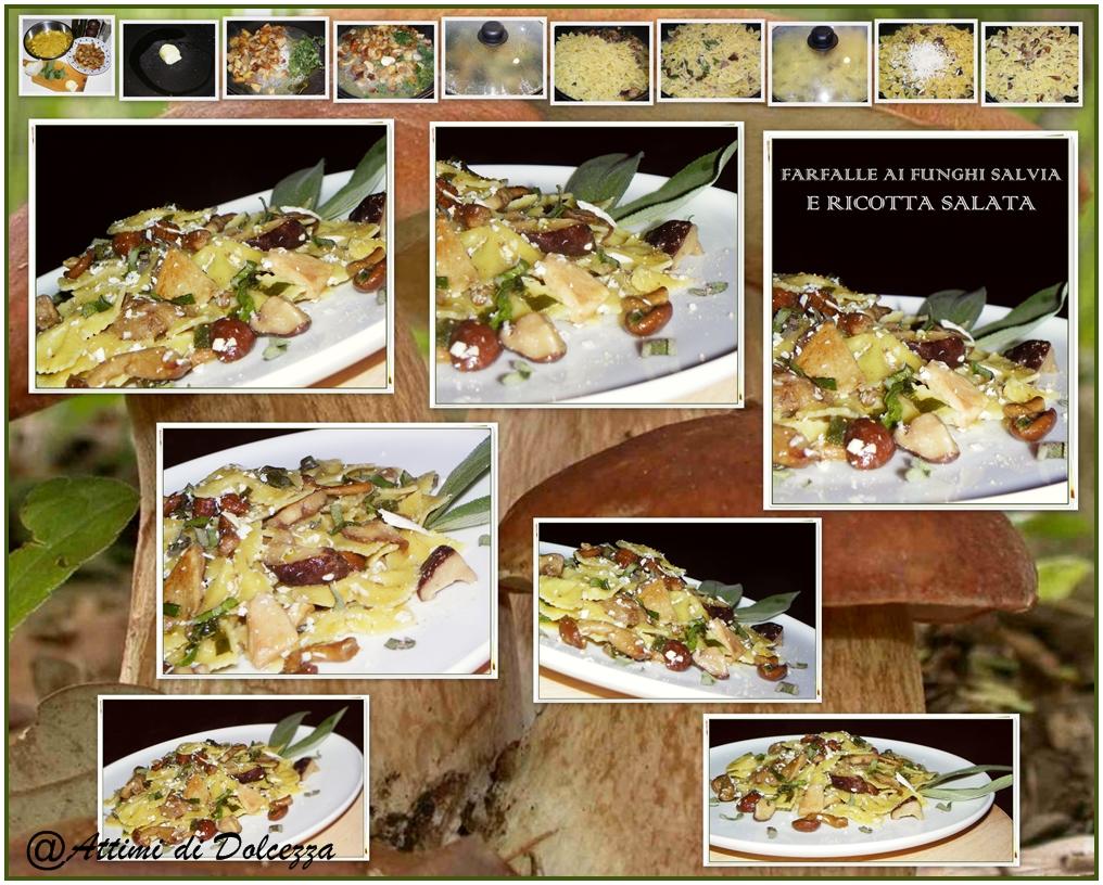 farfalle-ai-funghi-salvia-e-ricotta-salata