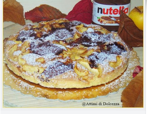 TORTA DI MELE E NUTELLA SENZA GLUTINE