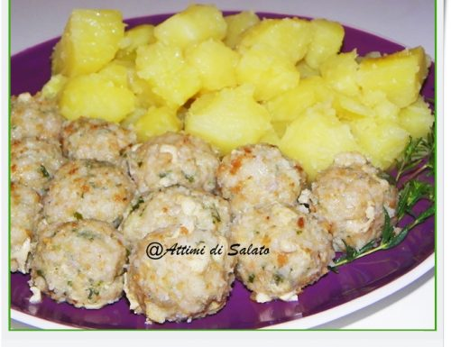 PATATE E POLPETTE LIGHT