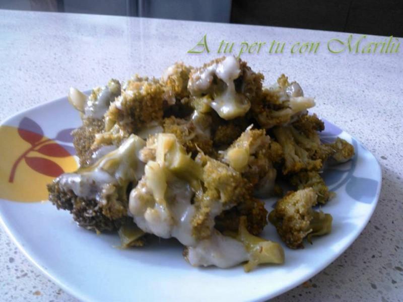 Broccoli e mozzarella