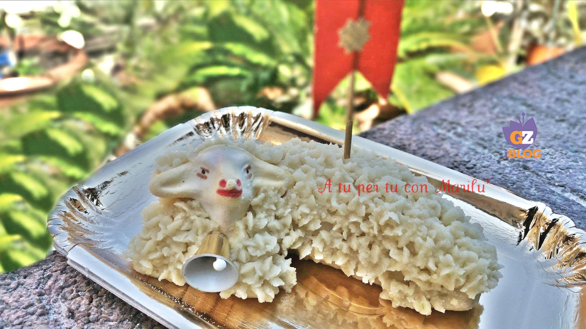 Pecorella in pasta reale