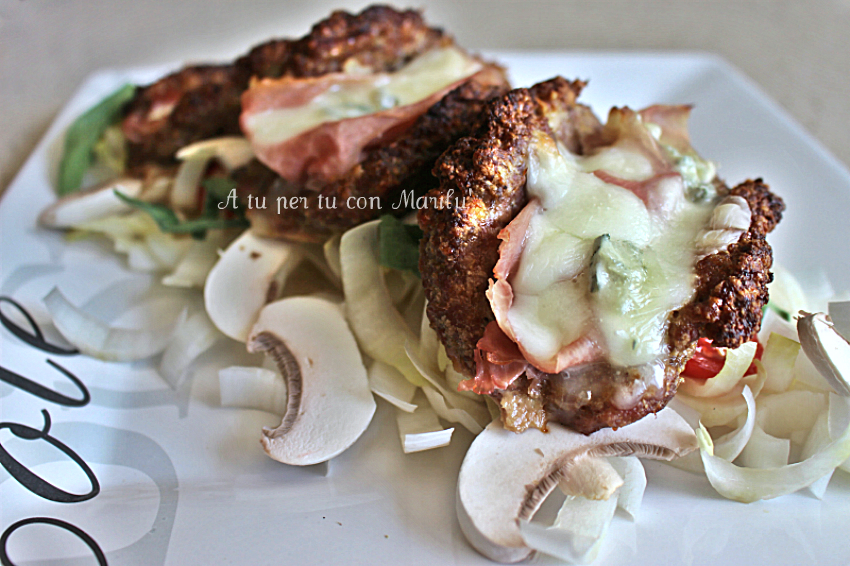 Tacos di carne filanti