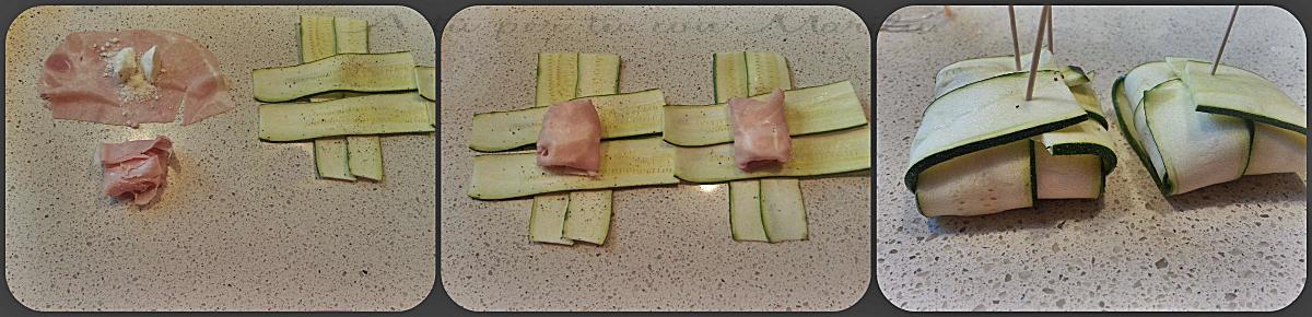Involtini di zucchine al forno - ricetta leggera e facile - A tu per tu con Marilù