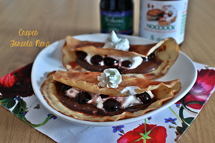 Crepes foresta nera
