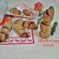 Alberelli di pizza ai cereali   idea segnaposto aperitivo o antipasto Natale A tu per tu con Marilù