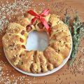 Ghirlanda natalizia di pizza   idea centrotavola commestibile con rosticceria A tu per tu con Marilù