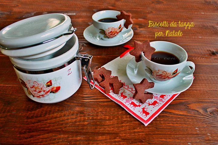 Biscotti da tazza per Natale al cacao - A tu per tu con Marilù