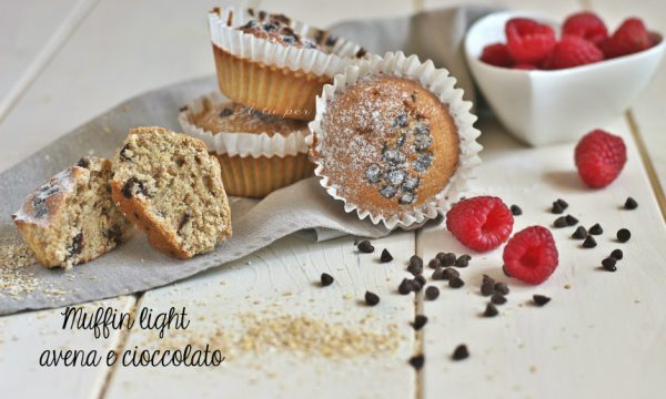 Muffin bimby avena e cioccolato