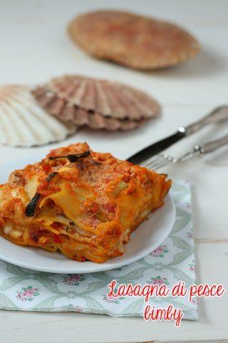 Lasagna di pesce bimby con zucchine e peperoni primo in for Pesce rosso costo